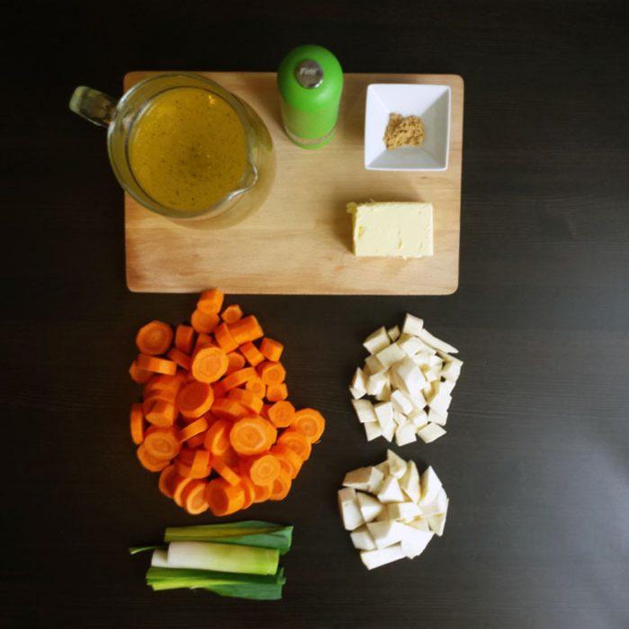 Zupa krem z marchwi z odrobiną chilli
